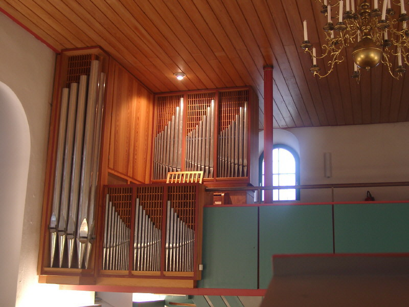 Orgel der Waldenserkirche