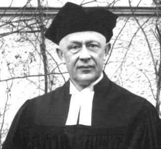 Hans Hief (1886-1974) Pfarrer in Dornholzhausen von 1926 bis 1956.