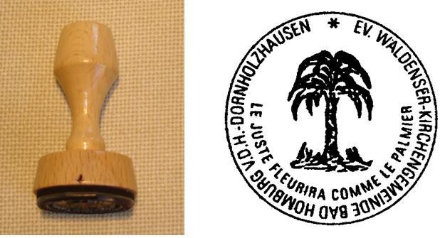 Das neue Siegel der Waldenser-Kirchengemeinde