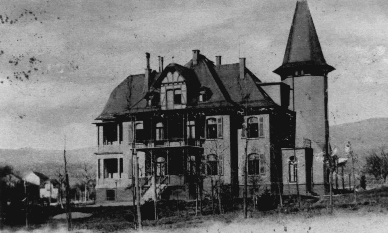 Die Villa Herzberg Urzelle des Alten- u. Pflegeheimes